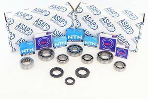 Gearbox Bearing Oil Seal Repair Kit Fits Honda Jazz 2002-2008 1.2 1.3 1.4 5 sp
