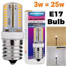 JAUHOFOGEI E17 Intermediate Base LED Bulb 120V, Warm, Daylight, 25W Replacement