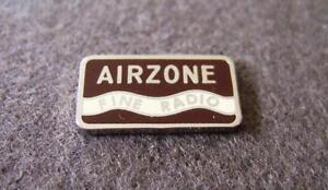 Vintage Valve Radio Badge - Suit various Airzone Radio's from 1940 - 1948 Cub