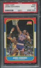 1986 Fleer Basketball #29 James Edwards psa 9 Mint