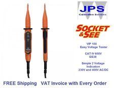 Easy Electrical Voltage Tester Test AC DC Socket & See VIP100 JPST024