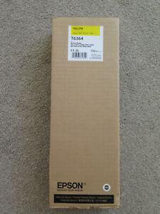 EPSON Stylus Pro T6364 Yellow Genuine Ink 700ml 7700 7890 7900 9700 9890 9900