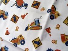 Circo Full *BUILD IT* Construction Zone Trucks 4pc Full Flat-Fitted-Pillowcases