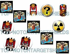JUDGE DREED PINBALL CUSHIONED Pinball Target  Cushioned Decals