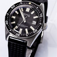 Sharkey NH35A 62MAS Diver Automatic Wristwatch MarineMaster Man SLA017 Sapphire