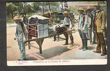 Cargadores en la Ciudad de Mexico post card/J K 57