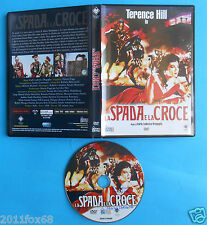 dvd la spada e la croce terence hill yvonne de carlo the sword and the cross f v
