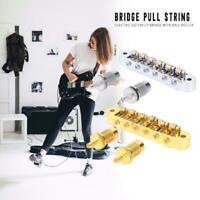 LP EPI Tune-O-Matic Roller Saddle Electric Guitar Bridge with Screws Tool