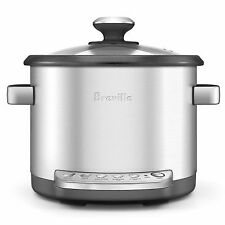 Breville the Multi Chef 3.7L Slow Cooker - Brushed Stainless Steel