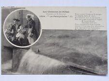 06D37 CPA CARTE POSTALE BRETAGNE - LES CHANSONS DE BOTREL - LA PAIMPOLAISE N°5
