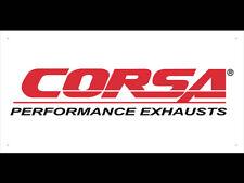 CORSA Exhaust Performance Shop Display Advertising Banner