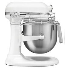 KitchenAid Ksmc895 8 Qt. Commercial Mixer — With Bowl Guard and Bowl Lift, White