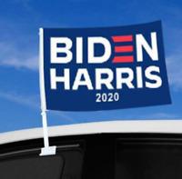 🇺🇸 BIDEN HARRIS 2020 CAR WINDOW FLAG - FAST FREE SHIP from USA.