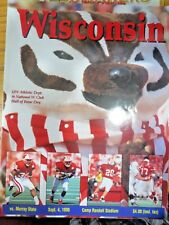 1999 UNIVERSITY OF WISCONSIN BADGERS FOOTBALL PROGRAM VS MURRAY STATE
