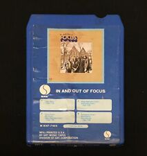 Focus ~ In and Out of Focus ~ 8 Track Tape ~ Tested Works
