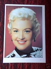 BETTY GRABLE - FILM STAR - 1 PAGE PICTURE - CLIPPING / CUTTING