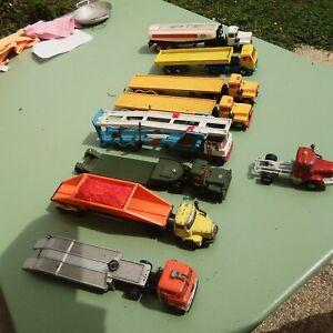 Lot Semi Remorque Corgy Major Toys Anciens Esso