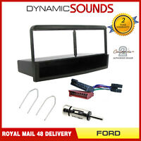 Single Din Car Stereo Fascia Surround Panel Fitting Kit For Ford Mondeo 93-03