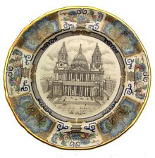 Masons Ironstone Plate St Pauls Cathedral Christmas 1982 CP105