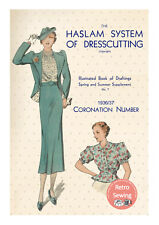 The Haslam System of Dresscutting No. 7 1936-7 Coronation Edition