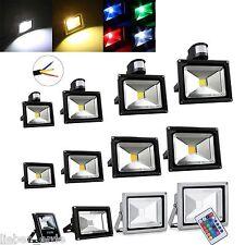 10W 20W 30W 50W 100W LED Fluter Strahler Scheinwerfer Flutlicht Bewegungsmelder