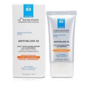ANTHELIOS ANTI-AGING FACE PRIMER SPF 50 1.35 fl.oz EXPIRES 01/2022+