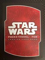 Star Wars Pocketmodel TCG Order 66 Rare Cards