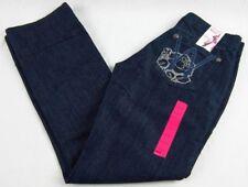 Womens Wrangler Western Mae Dark 09MWZLF Low Rise Light Jeans Size 9/10 x 30