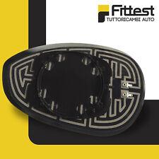 Specchietto Grande Punto Evo Fiat 500 Vetro Specchio Retrovisore DX Termico