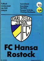 OL 78/79 FC Carl Zeiss Jena - FC Hansa Rostock, 24.03.1979