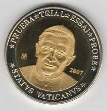 Vaticaan 2007 (Gr) probe-pattern-essai - 10 euro - Paus Benedictus XVI (bimetal)