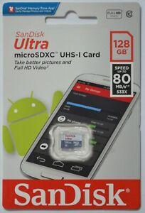 Speicherkarte 128 GB MICRO SD XC microSD Karte UHS-1 Class10 für Nintendo Switch