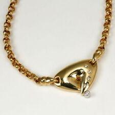 Collane e pendagli con diamanti collier naturale in oro giallo