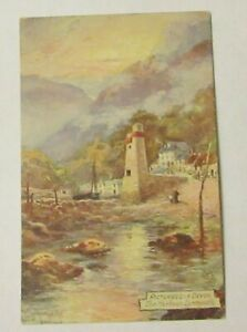 Picturesque Devon. The Harbour, Lynmouth. Raphael Tuck No.7777. Old Postcard