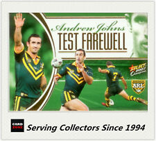 2007 Select NRL Champions Card Series Case Card CC6:Andrew Johns -- Rare!**