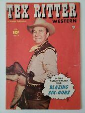 Tex Ritter Western (1951) #3  Comic book
