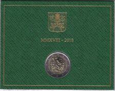 coffrets BU 2€ Vatican 2018 patrimoine culturel