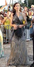Beautiful Grecian goddess halter neck silk gown by Alberta Ferretti I42