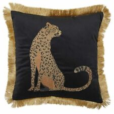 Davinci Piazza Cheetah Cushion Gold