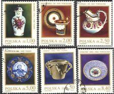 Polen 2739-2744 (kompl.Ausg.) gestempelt 1981 Steingut und Porzellan