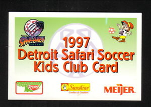 Detroit Safari--1997 Pocket Schedule--Keebler/Meijer--CISL