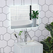 "Led Illuminated Bathroom Vanity Mirror Wall Mounted 24""x32"" Touch Switch"