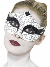 Gothic Swan Eyemask, Halloween Carnival of the Damned Fancy Dress #AU