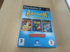 RAYMAN 10TH ANNIVERSARY  slip case collection  PS2 french pal version