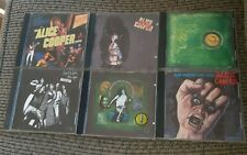 Alice Cooper CD Lot 6 Album /LOVE TO DEATH/TRASH/YELL/BILLION DOLLAR/LIVE/BEAST