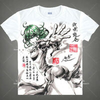 Hot Anime ONE PUNCH-MAN tatsumaki T-shirt Short Sleeve Unisex Tops Ink Print