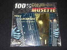 """TONY CASANOVA et son ORCHESTRE   EP 45T 7""""   100% MUSETTE"""