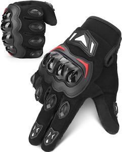 Guanti Da Moto Ce 2Pk Omologati Touchscreen Guanti Estivi Sportivi Protettivi