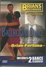 BALLROOM DANCE FOR BEGINNERS WITH BRIAN FORTUNA DVD INCLUDES 2 DANCE CLASSICS