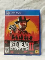 Red Dead Redemption 2 - PlayStation 4 PS4 W/ Map GREAT CONDITION! (A4)